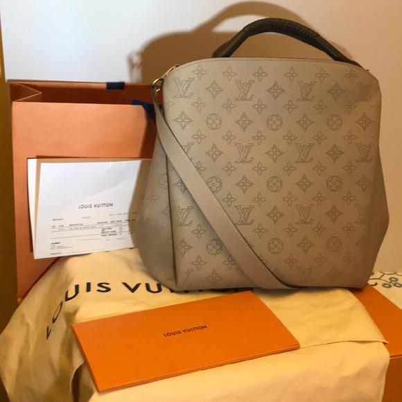 d04fa184fd Louis Vuitton Babylone PM Mahina Galet Handbag